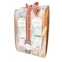 grissini stirati a mano confezione regalo tradizione Piemonte gli acquolini