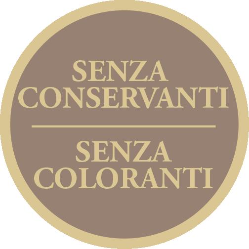 senza coloranti conservanti - preservatives free